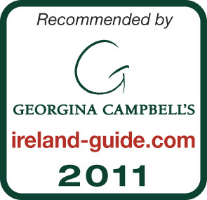 Georgina Campbell Green Ireland Hospitality Award Winner 2010