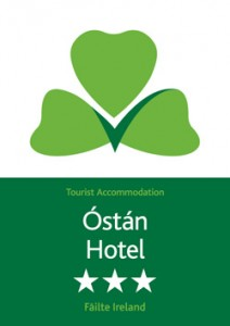 Bush Hotel 3 Star Tourist Accommodation Failte Ireland 2015