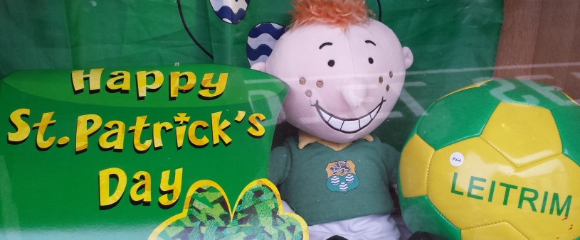 st patrick's day 2015 window