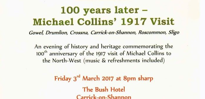 Michael Collins 1917 commemoration
