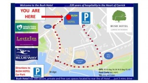 Map to Car Park