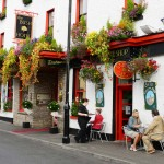 Front of Bush Hotel Leitrim