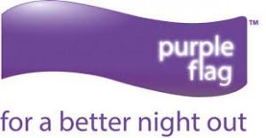 purple flag for a better night out