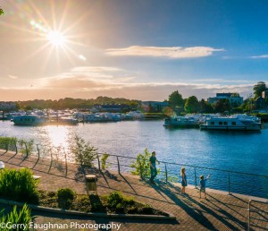 Sunshine in Carrick on Shannon