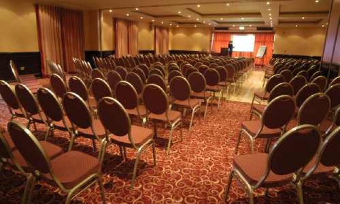 Theatre style conference facilities